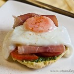 Pesto & Prosciutto Open Sandwiches - low Fodmap