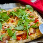 Bacon & Feta Pizza - low Fodmap
