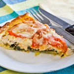 Chicken and Leek Quiche - Low Fodmap & Gluten-Free