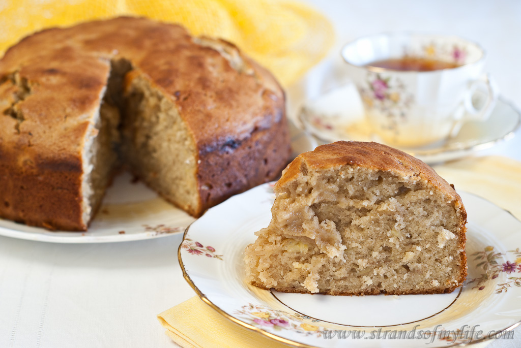 Low Fodmap Banana Cake