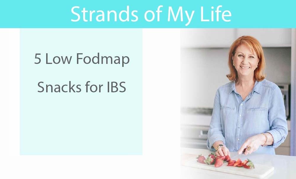5 Low Fodmap Snacks & Webinar