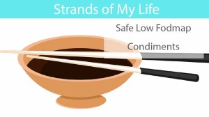 Safe Low Fodmap Condiments
