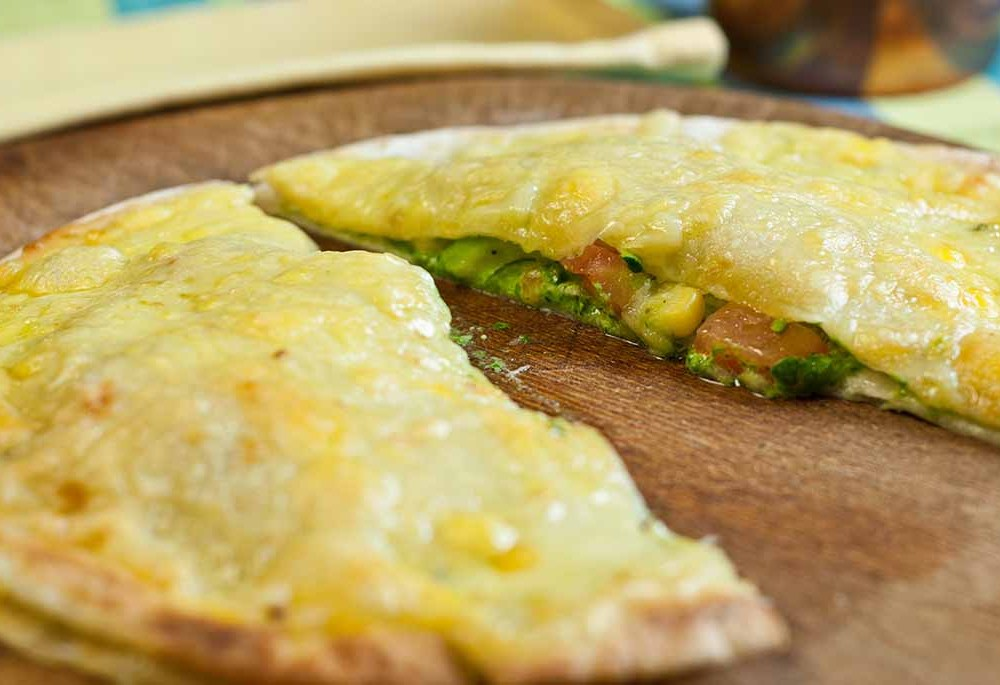 Cheese and Spinach Quesadillas