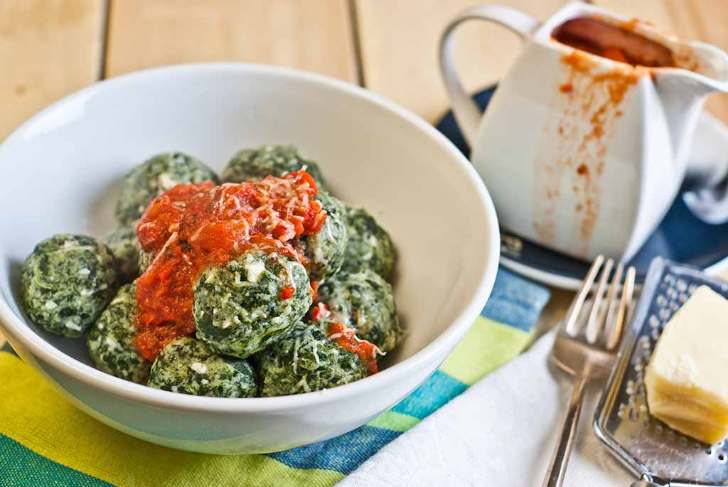 Low Fodmap Spinach Gnocchi