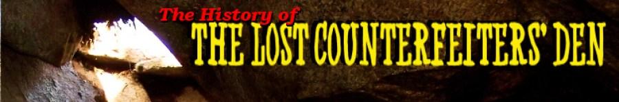 Strange New England - Lost Counterfeiters Den
