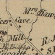 1858 Map of Monroe