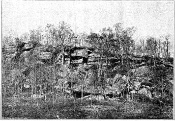 1895 photo of the Ledge