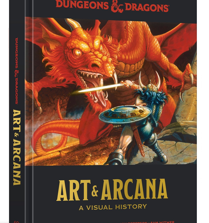 Review – Dungeons & Dragons: Art & Arcana: A Visual History