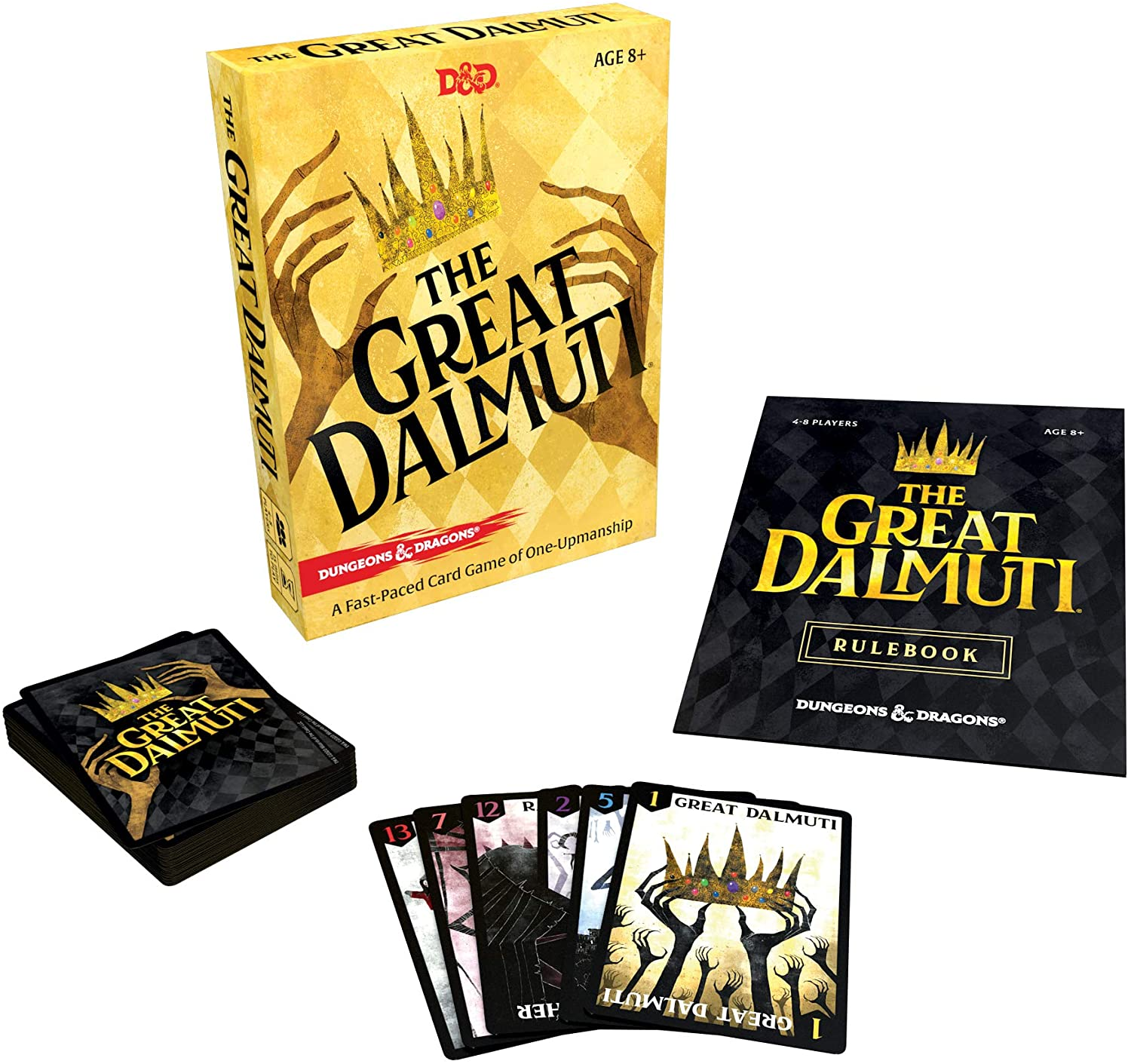 The Great Dalmuti Second Edition Card Game Richard Garfield Games