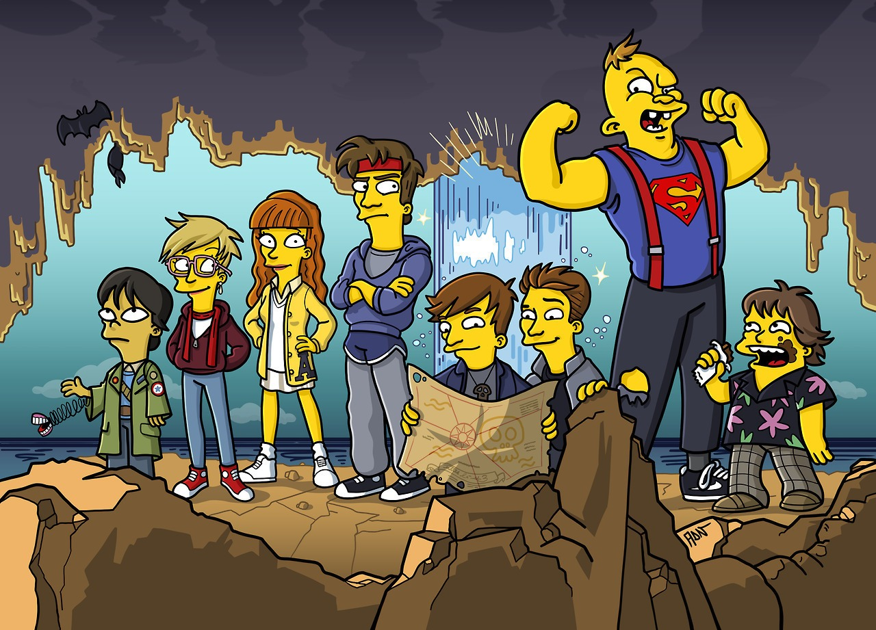 Gravity Falls Fan Art Wallpaper Famous Tv And Film Characters Get Simpsonized Strange Beaver