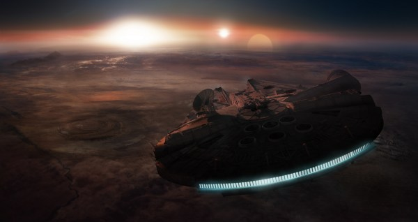 4K Star Wars Millennium Falcon Wallpaper