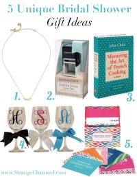5 Unique Bridal Shower Gift Ideas