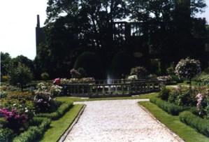 Queen's Garden at Sudeley Castle