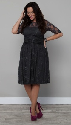 Kiyonna Luna Lace Dress