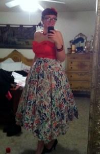Mexican circle skirt