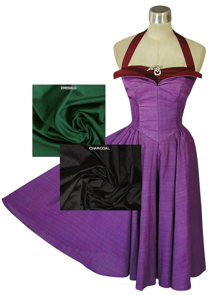 Whirling Turban Dress