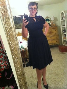 Late 1940s dress
