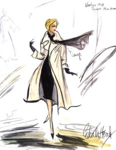 Vertigo Costume Sketch