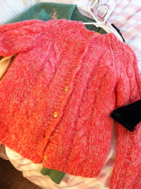 Pink Vintage Sweater