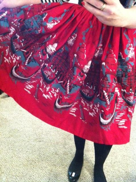 Venetian Jenny Skirt