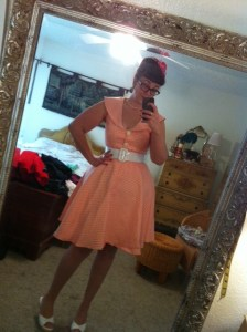 Voodoo Vixen Eleaonor cardigan and Roxy dress