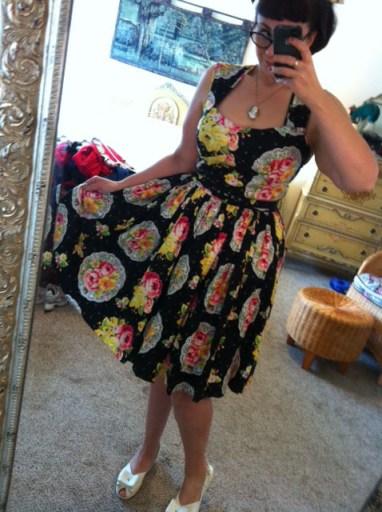 Bernie Dexter Sweetheart Dress