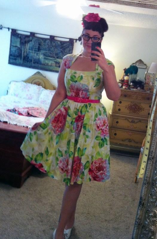 Bernie Dexter Veronique dress - blush floral