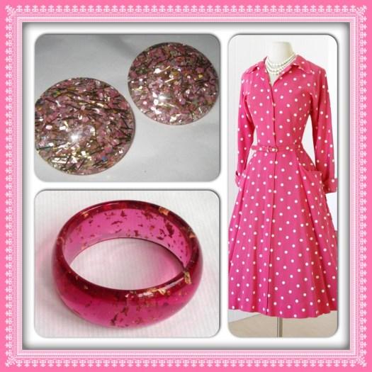 Pink Vintage Finds