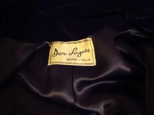Don Loper vintage coat