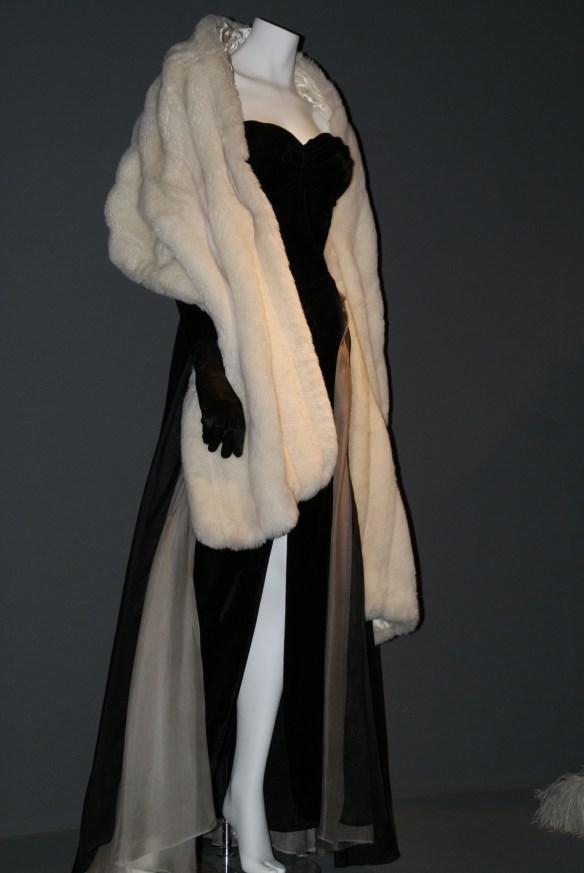 Sylvia's Fountain Dress from La Dolce Vita at a Cinecitta exhibition on Fellini. Photo by Cassia Afini via Wikimedia.