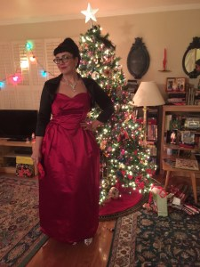 Vintage Frank Starr gown