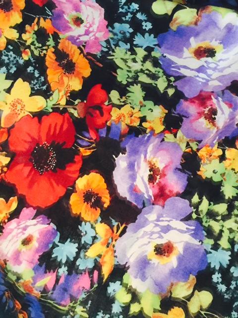 Heart of Haute Erika set in Eden floral print