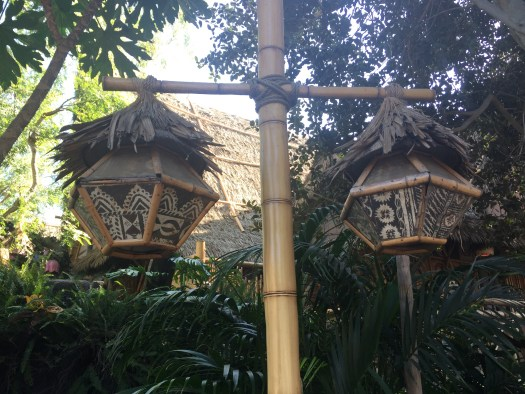 Oceanic Arts lamps at Disneyland