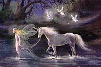 Fairy Queen with Horse
