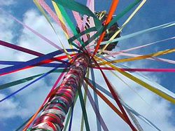Ribbons of the Maypole