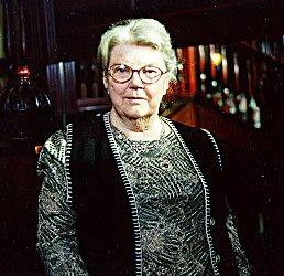 Joan Aiken, photograph by Beth Gwinn