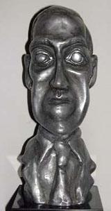 photo of World Fantasy Award trophy
