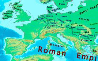 Boundaries c. 400 CE