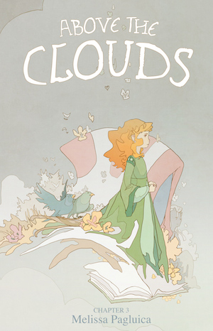 2014 Melissa Pagluica, Above the Clouds, Chapter 3 Cover
