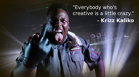 krizz kaliko, quote companion to bipolar