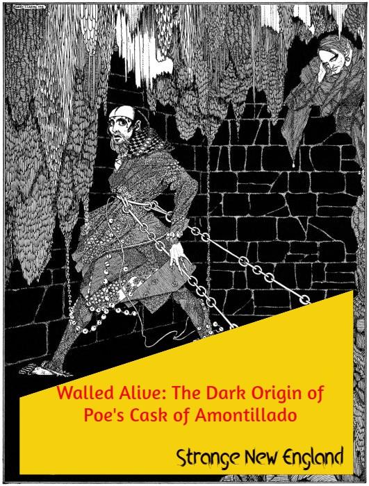 Title - Walled Alive - The Dark Origin of Poe's The Cask of Amontillado