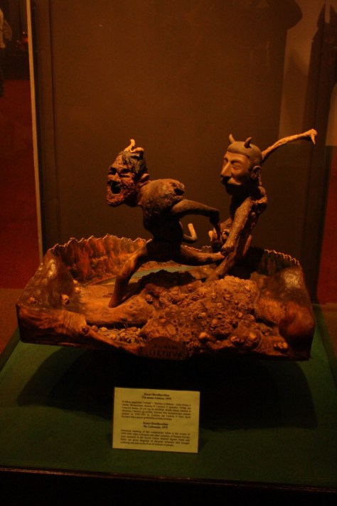 Picture: Lithuanian Devils Museum 'Two very recognizable devils'