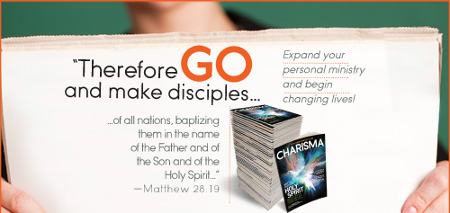 Therefore GO and make disciples...