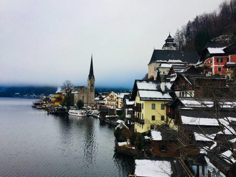 Avstrija - Izlet v Hallstatt
