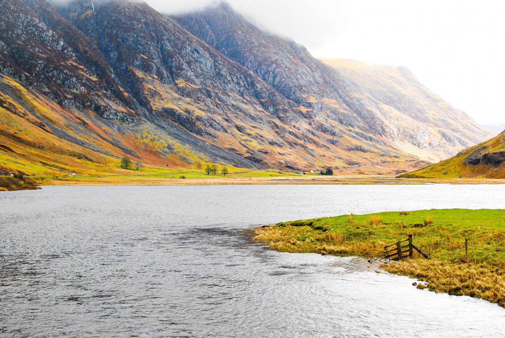 Potovanje po Škotski v sedmih dneh