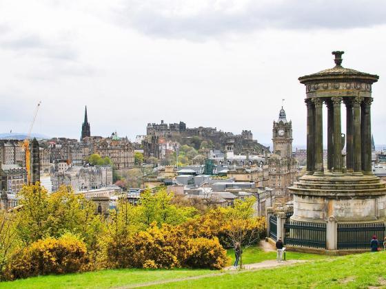 Škotska potovanje - Edinburgh znamenitosti