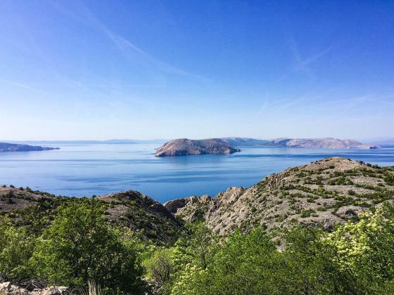 Hrvaška potovanje z motorjem - Jadranska magistrala