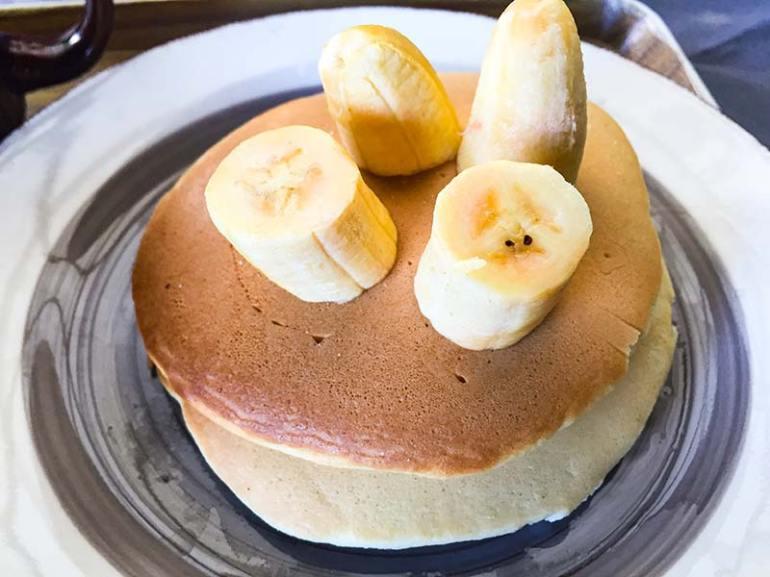 Palačinke z banano za zajtrk