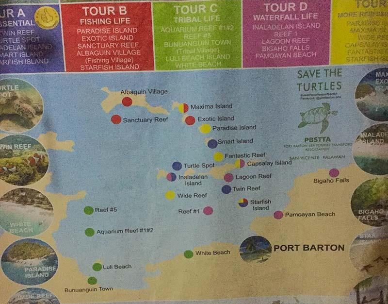 Island Hopping v Port Barton