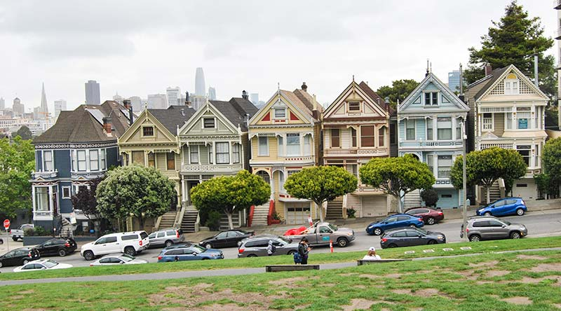 Painted Ladies v San Francsicu